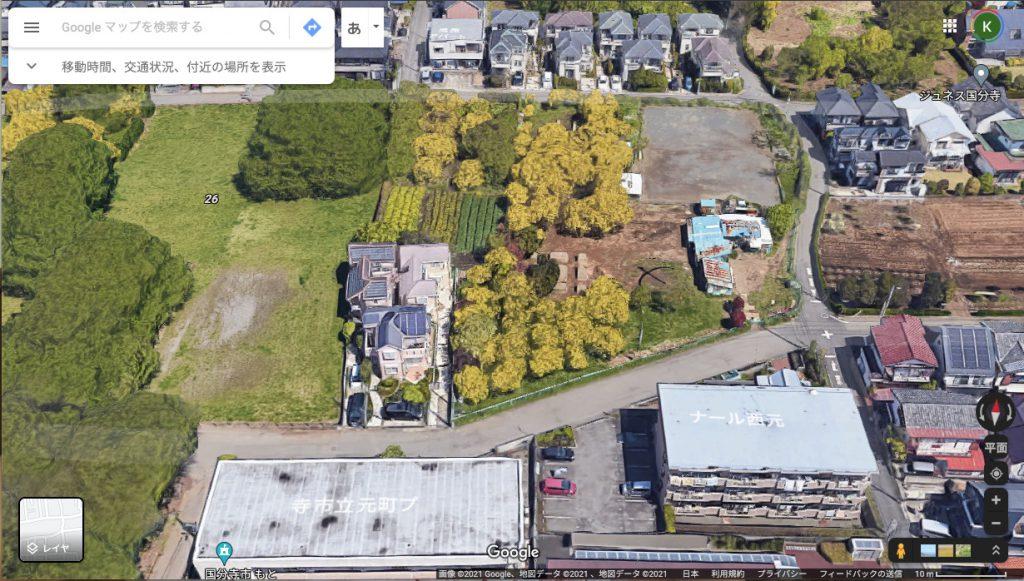 Google Mapで見る西元町3丁目のプレイステーション跡