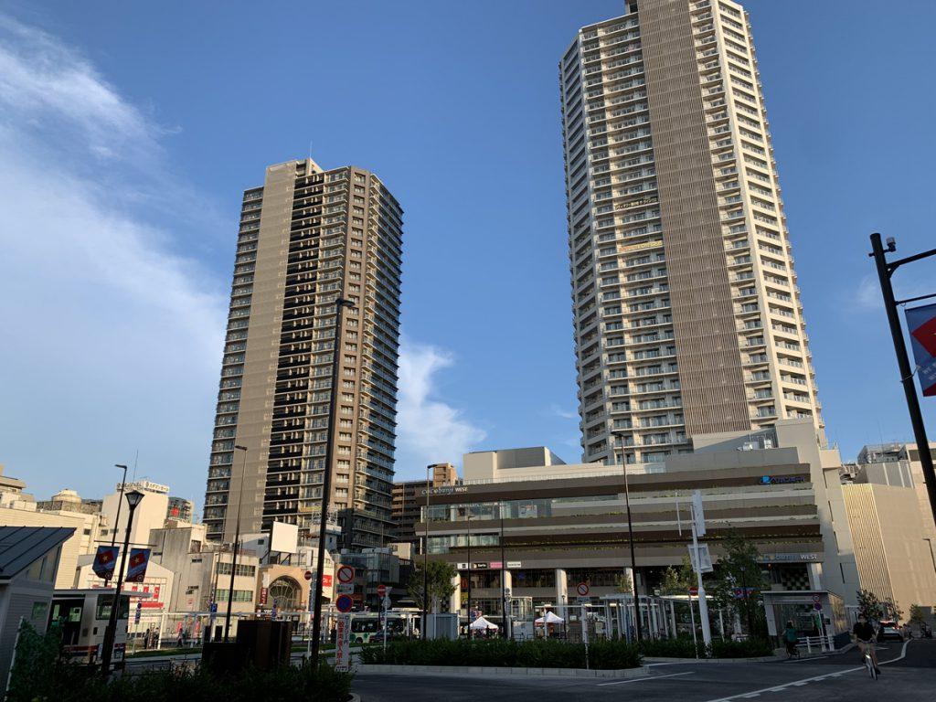 再開発された国分寺駅の北口 (2021年7月23日時点)