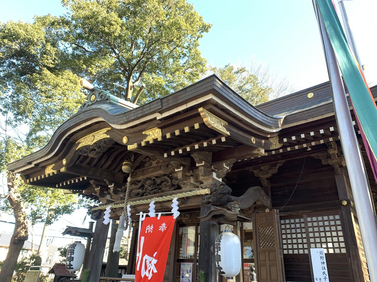 東京・国分寺 熊野神社 2021年初詣