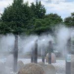 武蔵国分寺公園の霧の噴水