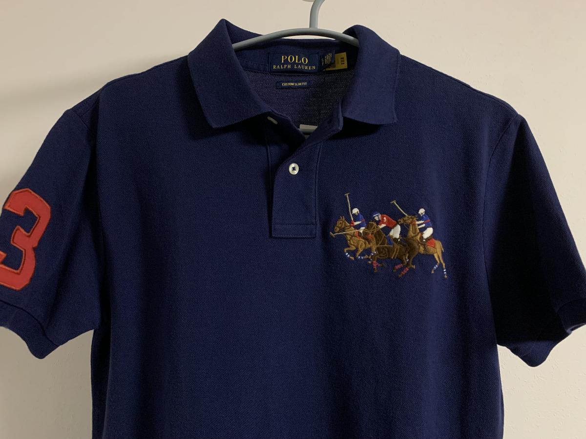 ポロ・ラルフローレンのトリプルポニーのポロシャツ