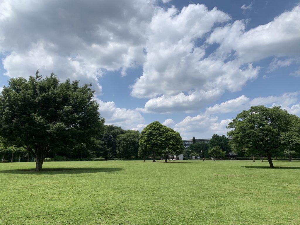 武蔵国分寺公園・円形広場