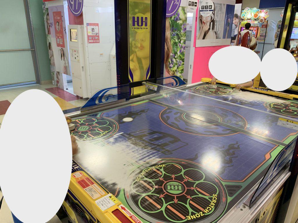 懐かしいホッケーゲームがあるタイトーステーション国分寺店