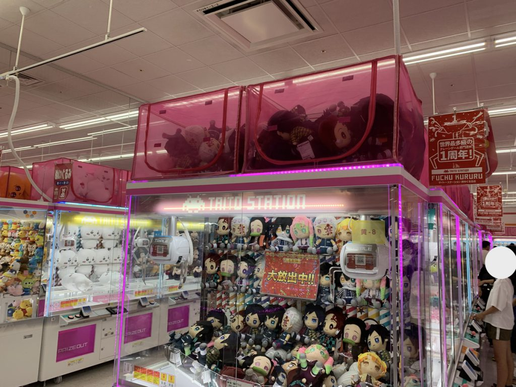 クレーンゲーム専門店のタイトーステーション府中くるる店